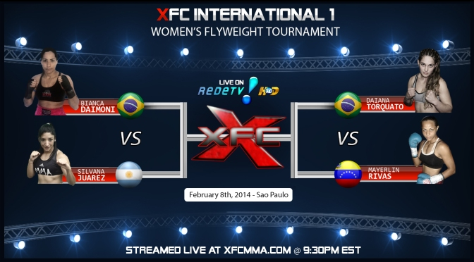 ESPN to Broadcast XFC International 1 – Live from Sao Paulo, Brazil Saturday Feb. 8th, 2014
