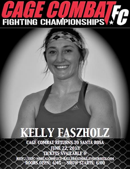 Kelly Faszholz / WMMA Stats, Pictures, Videos, Biography