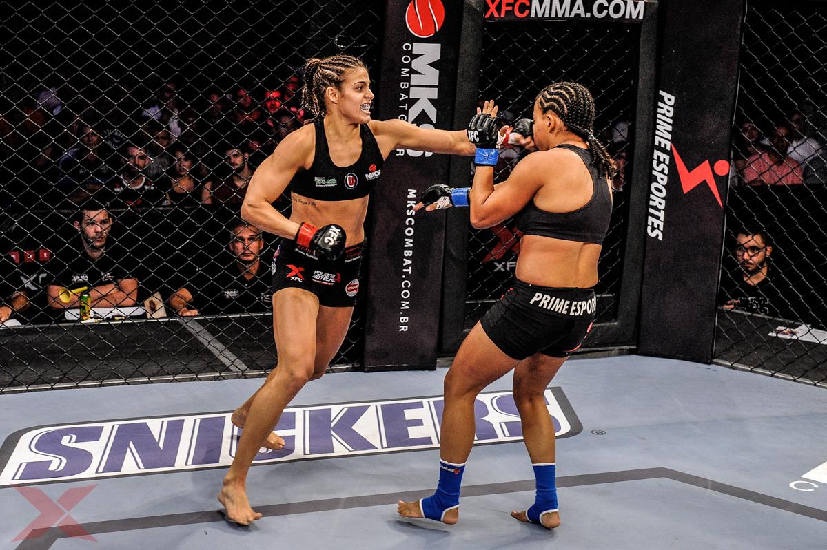 Poliana Botelho Knocks Out Antonia Silvaneide