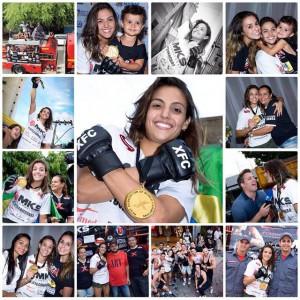 XFC S. II Flyweight Tournament Champ Poliana Botelho honored during parade